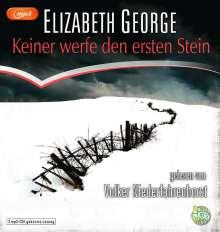 Elizabeth George: Keiner werfe den ersten Stein, MP3-CD