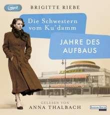 Brigitte Riebe: Die Schwestern vom Ku'damm. Jahre des Aufbaus, 2 MP3-CDs