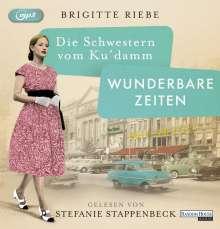 Brigitte Riebe: Die Schwestern vom Ku'damm. Wunderbare Zeiten, MP3-CD