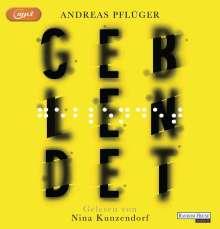Andreas Pflüger: Geblendet, MP3-CD
