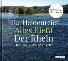 Elke Heidenreich: Alles fließt: Der Rhein, 3 CDs
