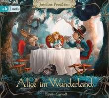 Lewis Carroll: Alice im Wunderland, 3 CDs