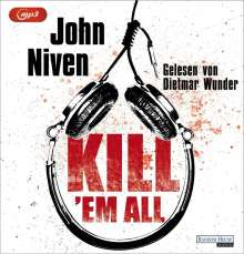 John Niven: Kill 'em all, MP3-CD