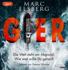 Marc Elsberg: Gier, 2 MP3-CDs