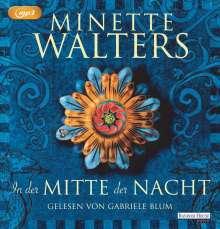 Minette Walters: In der Mitte der Nacht, MP3-CD