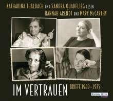 Hannah Arendt: Im Vertrauen, 2 CDs
