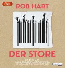 Rob Hart: Der Store, MP3-CD