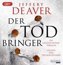 Jeffery Deaver: Der Todbringer, MP3-CD