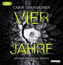 Carin Gerhardsen: Vier Jahre, MP3-CD
