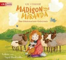 Anu Stohner: Madison und Miranda - Das Glückskatzen-Geheimnis, CD