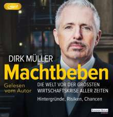 Dirk Müller: Machtbeben, MP3-CD