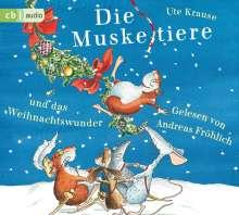 Ute Krause: Die Muskeltiere und das Weihnachtswunder, 3 CDs