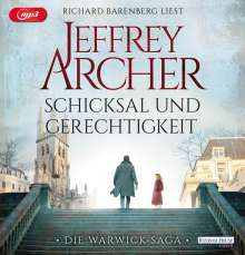 Jeffrey Archer: Schicksal und Gerechtigkeit, MP3-CD