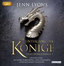 Jenn Lyons: Der Untergang der Könige, MP3-CD