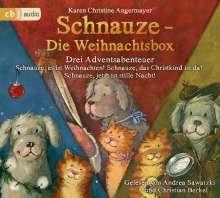 Karen Christine Angermayer: Schnauze - Die Weihnachtsbox, 3 CDs