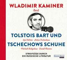Tolstois Bart & Tschechows Schuhe, 4 CDs