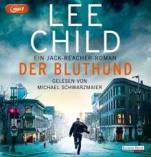 Lee Child: Der Bluthund, 2 MP3-CDs