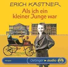Erich Kästner: Als ich ein kleiner Junge war, CD