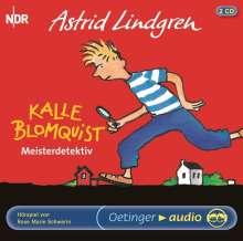 Astrid Lindgren - Kalle Blomquist, der Meisterdetektiv, 2 CDs