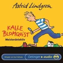 Astrid Lindgren - Kalle Blomquist, CD