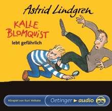 Astrid Lindgren - Kalle Blomquist lebt gefährlich, CD