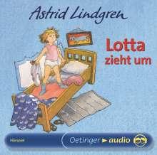 Astrid Lindgren - Lotta zieht um, CD