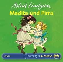 Astrid Lindgren - Madita und Pim, CD