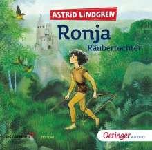 Astrid Lindgren - Ronja Räubertochter, 2 CDs