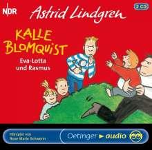 Astrid Lindgren - Kalle Blomquist, Eva-Lotta und Rasmus, 2 CDs