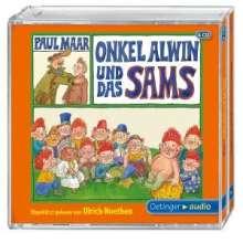 Paul Maar: Onkel Alwin und das Sams, 3 CDs