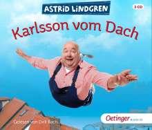 Astrid Lindgren: Karlsson vom Dach, 3 CDs