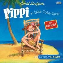 Astrid Lindgren: Pippi in Taka-Tuka-Land - Das Hörspiel (2 CD), CD