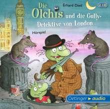 Erhard Dietl: Die Olchis und die Gully-Detektive von London (2 CD), CD