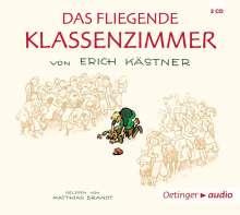 Erich Kästner: Das fliegende Klassenzimmer (4 CD), CD