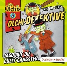 Barbara Iland-Olschewski: Olchi-Detektive 01. Jagd auf die Gully-Gangster (CD), CD