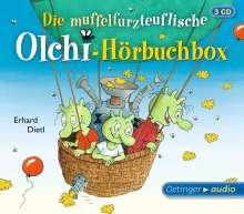 Erhard Dietl: Die muffelfurzteuflische Olchi-Hörbuchbox (3CD), CD