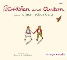 Erich Kästner: Pünktchen und Anton (3 CD), 3 CDs