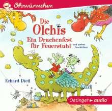 Erhard Dietl: Die Olchis. Ein Drachenfest für Feuerstuhl und andere Geschichten (CD), CD