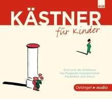 Erich Kästner: Kästner für Kinder, CD