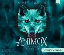 Aimee Carter: Animox. Das Heulen der Wölfe (4 CD), 4 CDs