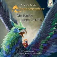 Funke Cornelia: Die Feder eines Greifs. Drachenreiter Band 2, 10 CDs
