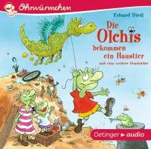Erhard Dietl: Die Olchis bekommen ein Haustier und eine weitere Geschichte (CD), CD