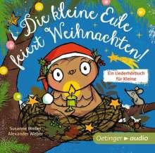 Susanne Weber: Die kleine Eule feiert Weihnachten (CD), CD