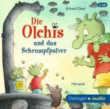 Erhard Dietl: Die Olchis und das Schrumpfpulver (2 CD), 2 CDs