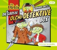 Erhard Dietl: Die große Olchi-Detektive-Box (4CD), 4 CDs