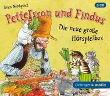 Sven Nordqvist: Pettersson und Findus - Die neue große Hörspielbox (3 CD), 3 CDs