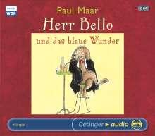 Paul Maar: Herr Bello und das blaue Wunder (2 CD), 2 CDs