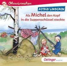Ohrwürmchen Als Michel den Kopf in die Suppenschüs, CD