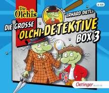 Die große Olchi-Detektive-Box 3, 4 CDs