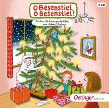 O Besenstiel,o Besenstiel! Weihnachtsbaumgeschich, 2 CDs